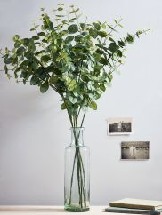 NEW Six Faux Eucalyptus Stems