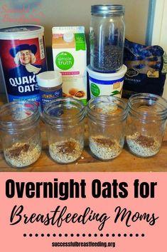 Lactation Oatmeal Recipe, Lactation Recipes, Oatmeal Recipes, Lactation Cookies, Boost Milk Supply, Increase Milk Supply, Overnight Oats, Healthy Milk, Breastfeeding And Pumping