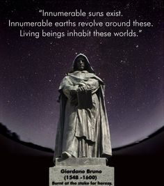 Giordano Bruno. No more silence. It is time to grow up. Most of what we need to know already IS a part of our ancient text. Like riding a bike, you never forget, it is in your DNA waiting to be discovered.