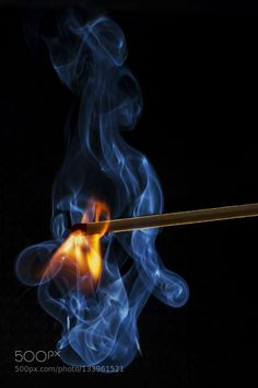 fire - Pinned by Mak Khalaf Abstract darkfireflameindoorlightsmoke by jensbernard