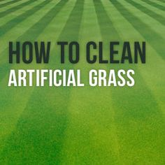 How To Clean Artificial Grass http://www.heavenlygreens.com/blog/clean-artificial-grass @heavenlygreens