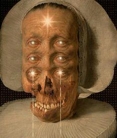 Felipe Froeder. Digital Collage Traditional Witchcraft, Dark Comics, Strange Events, Dance Of Death, Gothic Horror, Creature Design, Skull Art, Digital Collage, Occult