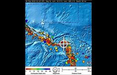 Strong Quake Rattles Solomon Islands