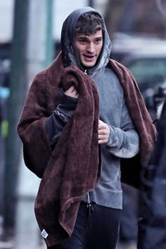 Jamie Dornan Fifty shades of grey movie bts