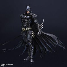Divine Play Arts Kai Batman. I own this figure in the red variant costume and it's amazing.