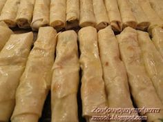 Ζουζουνομαγειρέματα: Μπουρέκια γεμιστά με πατάτα και κιμά! Sausage, Cooking Recipes, Meat, Ethnic Recipes, Food, Eten, Sausages, Meals