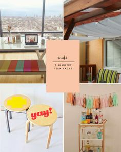 Make | 9 Summery IKEA Hacks - Poppytalk
