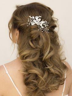 Hair Comes the Bride - Rhinestone