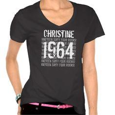 1964 Or Any Year Rocks 50th Birthday Gift V3 T Shirt