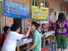 Chernuei Lions Club (Taiwan) provided free cancer screenings