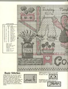 Just Cross Stitch Patterns (1687 pp.) | Learning Crafts is facilisimo.com