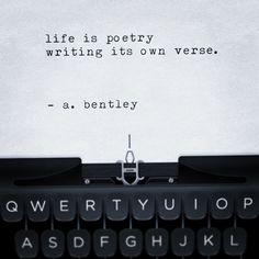 "One poem, two verses. I call it ""Life Is Poetry."" Write the fate of your own life. #poems #poetry #poetryloving #poetrycommunity #poetsofinstagram #poetryofinstagram #writer #writing #life #instagood #typewriter #instalike #sayings #quotes #shortpoems #inspiration #instaquote #lifeispoetry #tagafriend #tbh"