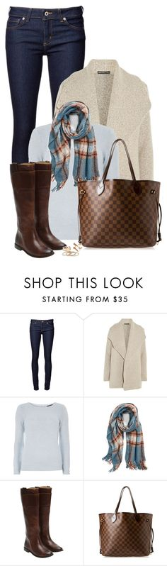 """""""Cold cold cold"""" by mrs-soudaphone-styles ❤ liked on Polyvore featuring James Perse, Dorothy Perkins, La Fiorentina, Frye, Louis Vuitton, women's clothing, women's fashion, women, female and woman"""