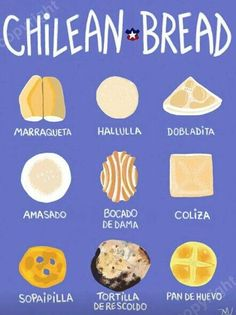 This might have been something Maya learned how to make. Chilean Recipes, Chilean Food, Chilean Bread Recipe, Peru, Comida Latina, Ecuador, Tasty, Yummy Food, Latin Food