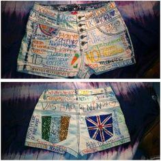 1D shorts <3