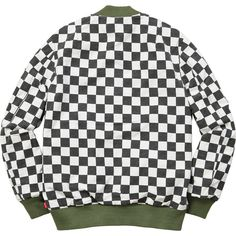 Reversible Checkered MA-1