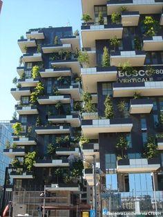 Bosco Verticale by Boeri Studio in Milan, Italy