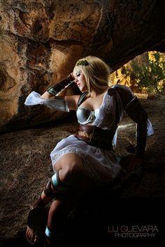 Sophitia Alexandra from Soul Calibur 3 Cosplay