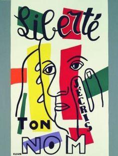 Liberte by Fernand Leger
