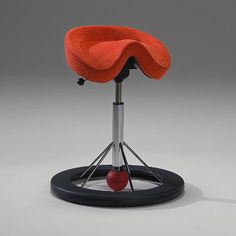 After watching the promo video on this swaying constant motion stool, I'm sold. Anyone whose experienced back pain from sitting too long will agree.