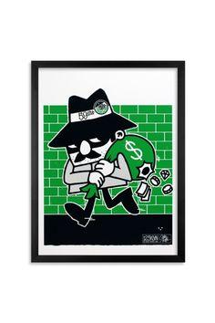 "123KLAN ""Robber"" poster"