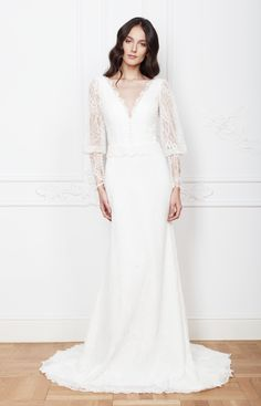 Kendra Wedding gown from Divine Atelier 2016 Wedding Dresses Romance and Femininity | itakeyou.co.uk
