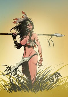 Native American Girl - Tyler Champion