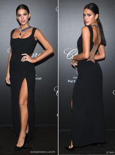 Vestido de Bruna Marquezine Versace em Cannes 2019 Kourtney Kardashian, Cannes, Glamour, Ideias Fashion, One Shoulder, Actresses, Formal Dresses, Beautiful, Versace Gown
