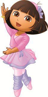 Kit Festa Dora Bailarina Para Imprimir Grátis                                                                                                                                                     Mais Cartoon Cartoon, Cartoon Characters, Dora Wallpaper, Dora Diego, Dora And Friends, Cute Clipart, Dora The Explorer, Applique Patterns, Big Eyes