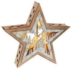 Svietiaca dekorácia Vianočná hviezda