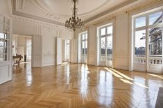 Parisian apartment with a view of the Arc de Triomphe & the Champs Elysee
