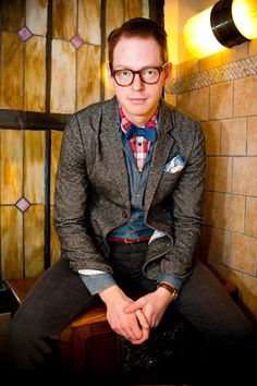 Nerds with Style: Eric Schulze {Thirst DC} via Go Kate Shoot  #DCStyleSyndicate