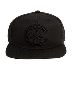 77e79813d5ffb Crooks   Castles - High C Snapback Cap (Black) -  32