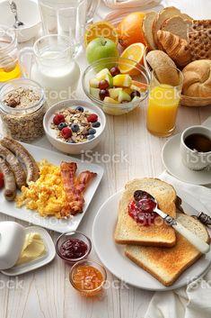 Healthy Breakfast Menu, Healthy Snacks, Breakfast Recipes, Healthy Recipes, Breakfast Cafe, Breakfast Quiche, Breakfast Buffet, Free Breakfast, Brunch Recipes