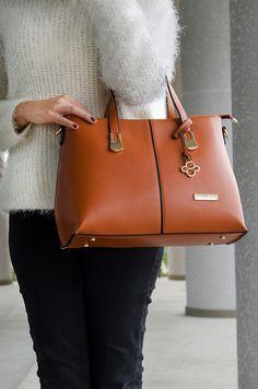 1201406bb Bolsa Maria - Stella Sofia #marrom #bolsa #couroecológico #look #moda