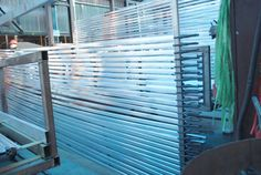 extruded aluminium sections on the shelf-1
