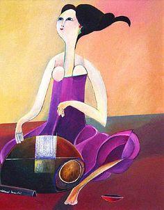 Rendeira (Lacemaker) - Aldemir Martins(Brazil, 1922 - 2006)