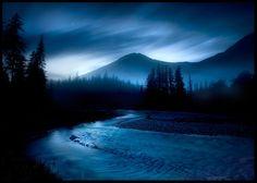 Twilight Mountain