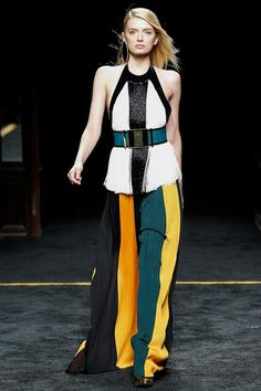 Balmain Fall 2015 RTW Runway - Vogue -Paris Fashion Week