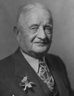 """John F. """"Honey Fitz"""" Fitzgerald - the father of Rose Fitzgerald, who later married Joseph Patrick Kennedy"""