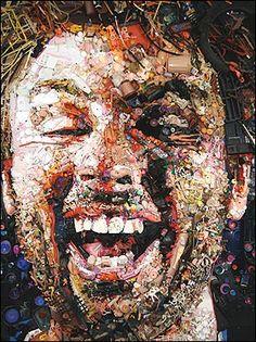 Self portrait ... artist Tom Deininger