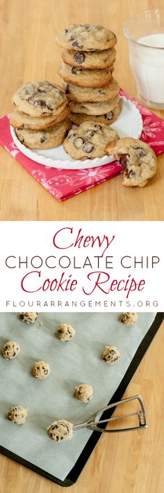 These chocolate chip cookies are deliciously chewy and full of chocolate. This simple-to-follow recipe turns out perfectly every time!