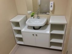 modern modular sink cabinet design ideas for bathroom storage ideas modern small bathroom designs with sink vanity latest small bathroom design ideas w. Small Bathroom Sink Cabinet, Bathroom Vanity Designs, Small Bathroom Storage, Bathroom Cabinets, Bathroom Ideas, Bathroom Furniture, Bathroom Interior, Pinterest Bathroom, Room Shelves