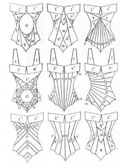 All Things Sewing and Pattern Making This is awesome, I wan Iris Folding Templates, Iris Paper Folding, Iris Folding Pattern, Pattern Drafting, Sewing Hacks, Sewing Crafts, Sewing Projects, Pliage D'iris, Corset Pattern