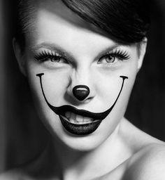 Maquillage d'Halloween : le clown maléfique
