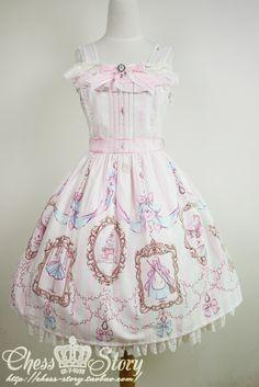 】 【La robe de Cinderella Cinderella Dress JSK handle spot - Taobao