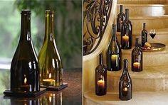 Usando garrafas na decoração! Fonte google 👏🍷🍷#vinho #vinhos #wine #Winery #brazilianfood #petisco #petiscos #vinhozinho #espumante #champagne #champanhe #sparklingwine #winelover #winetime #pairing #harmonização #vinhobrasil #queijosevinhos #vinhosequeijos #winebottle #garrafadevinho