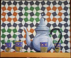 LE THE Album, Blog, Bertrand, Painting, Morocco, Painting Art, Paintings, Painted Canvas