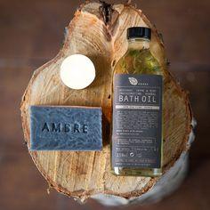 Organic Geysus Valley Detox Soap and Bath Oil Gift Set