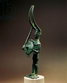 Bronze statuette of armed warrior, from Sardinia region, Italy Carthage, Stone Age, Sardinia, Sicily, Civilization, Vikings, Spain, Europe, History